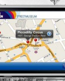 Streetmuseum, aplicação de realidade aumentada com fotos históricas de Londres