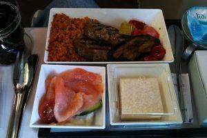 comida aviões