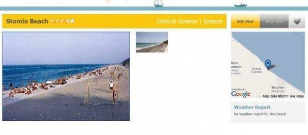 Beachionary, informação sobre as praias do mundo
