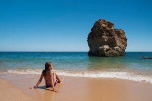 melhores praias de albufeira
