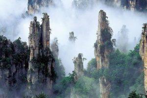 As montanhas de Tianzi na China, as montanhas do filme 'Avatar'