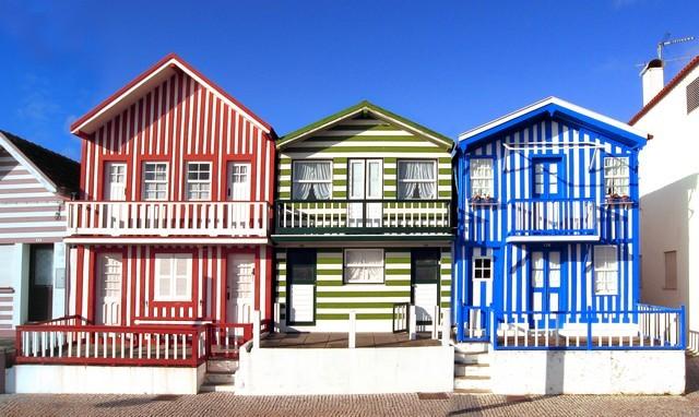 cidades coloridas
