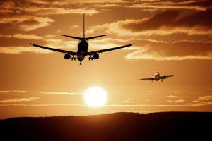 perigos das viagens de avião
