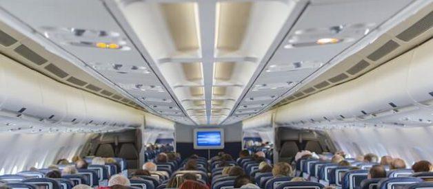 lugar mais seguro para viajar de avião