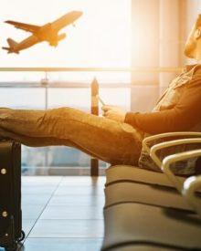 andar de avião